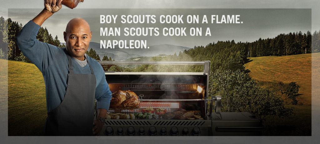 Napoleon-boy-scout